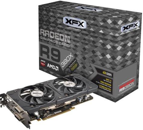 Vga Radeon Powercolor R9 460 4gb vga xfx amd radeon r9 380x dd black edition oc 4gb gddr5 pci e retail καρτα γραφικων per 519791