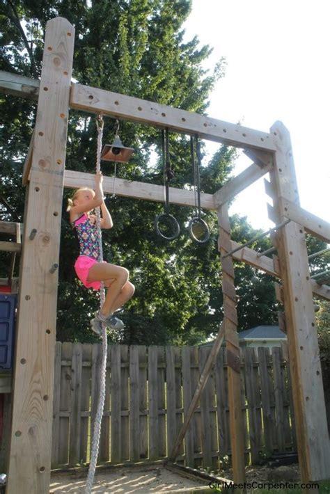 backyard ninja warrior course remodelaholic how to build your own american ninja