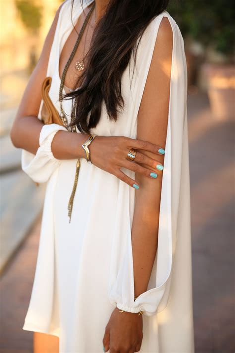 sale v neck chiffon a one dress with