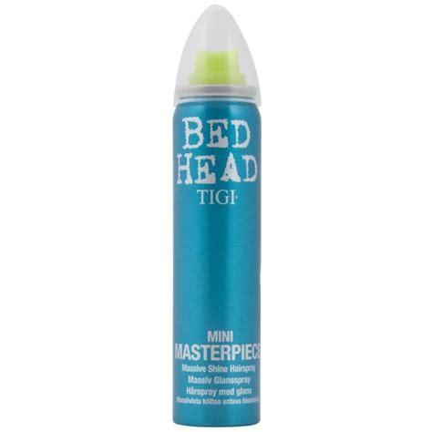 bed head masterpiece hairspray tigi bed head mini masterpiece hairspray 75 ml