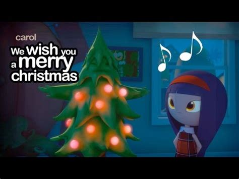 merry christmas carol christmas songs  cartoon youtube