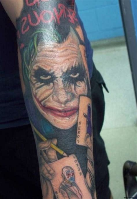 joker card tattoo joker tattoos designs ideas and meaning tattoos for you