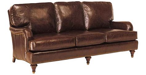 traditional leather loveseat traditional leather pillow back loveseat w english arms