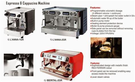Coffee Espresso Cappucino Machine Iberital 2gr Mesin Kopi Espresso coffee machine