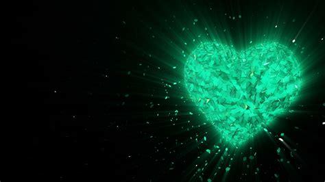 Emerald Black Syari abstract looped animated background rotating luminous 3d