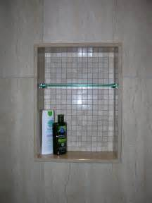custom glass shelves custom shower niche with glass shelf caledon tile