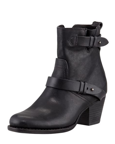 womens leather motorcycle boots rag bone womens harper leather motorcycle boot ceecp