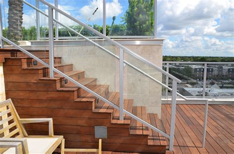 Glass Patio Railing Systems by Dupont Sentryglas 174 Provides Safer Stronger More Durable