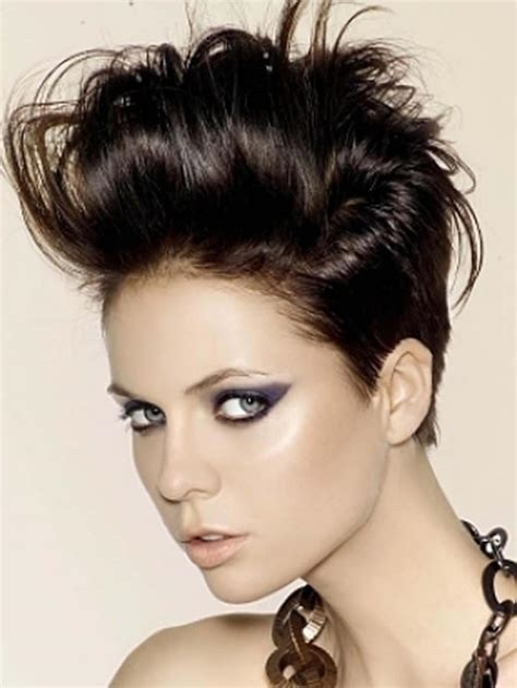 pompadour hairstyle pictures for women short hair pompadour women
