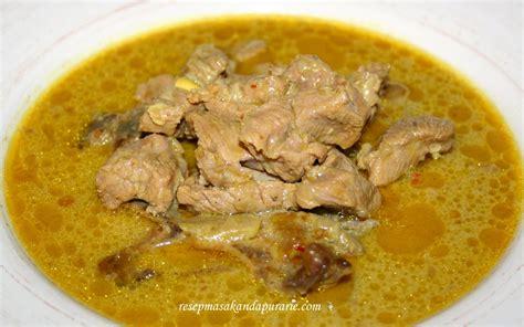 Bamboe Bumbu Sup Gule Indonesia resep cara membuat gule kambing kung enak resep