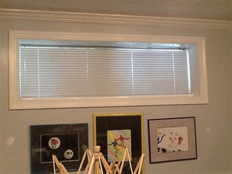 window coverings for basement windows rooms