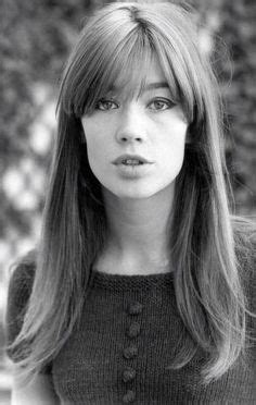 francoise hardy ocean fran 231 oise hardy franges and cheveux on pinterest