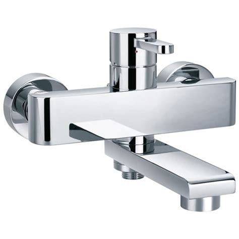 bathroom wall mixer zero wall mounted bath shower mixer tap hugo oliver