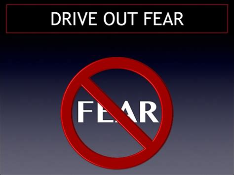 drive out creating a fear free workplace