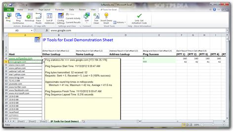 ip tool ip tools for excel