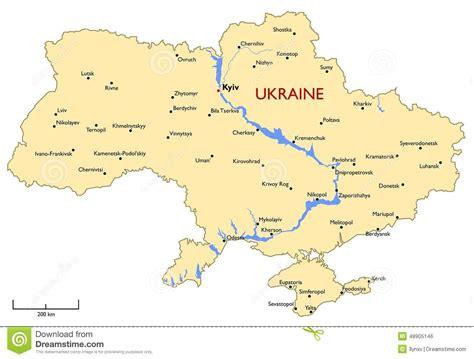 ukraine map vector ukraine map stock vector image 48905146