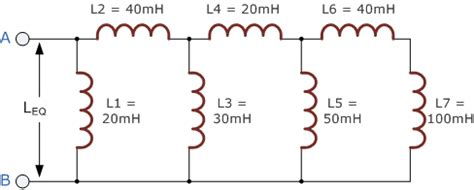 series of inductors inductors in parallel and parallel inductor circuits