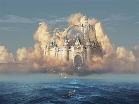 Castle In The Sky castle in the sky digital by george grie