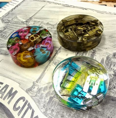 resin craft projects resin crafts paperweights with easycast resin great