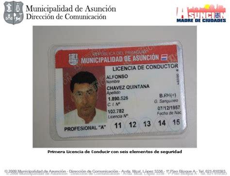 licencias de conducir municipalidad de tres de febrero camino al paraguay la municipalidad de asunci 243 n lanza