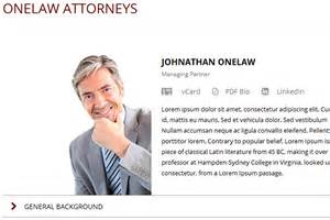 onelaw legal website template