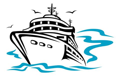 clipart cruise boat cartoon cruise ship clipart clipart suggest