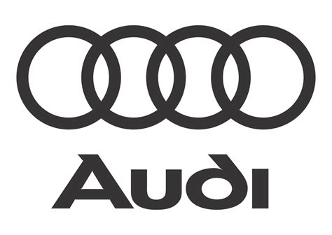 car logo black and white audi logo vector black white vector logo