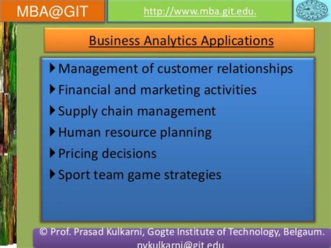 Sports Analytics Mba by Business Analytics Module 5 14mba14 According To New Vtu