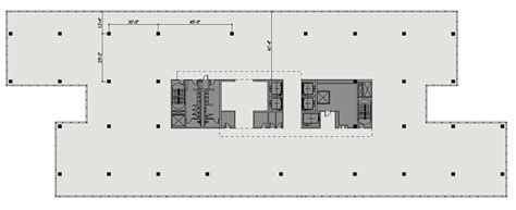 high rise floor plan typical high rise plan