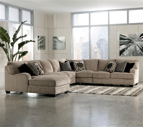 ashley furniture sectional sofas living room sectional katisha 4 piece sectional by ashley