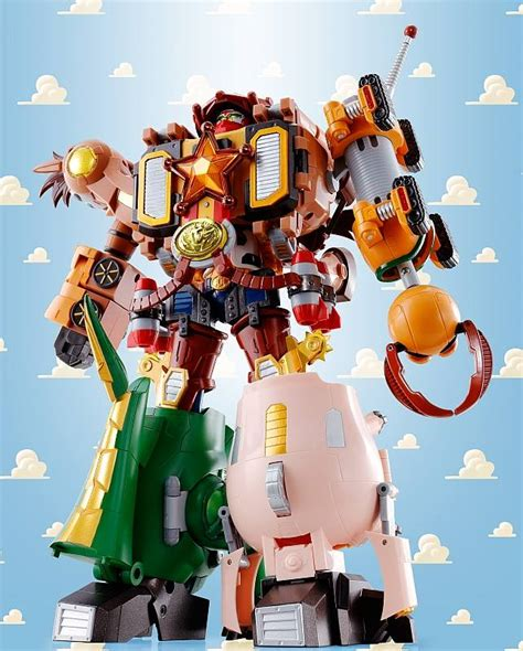 chogokin story combination woody robo sheriff