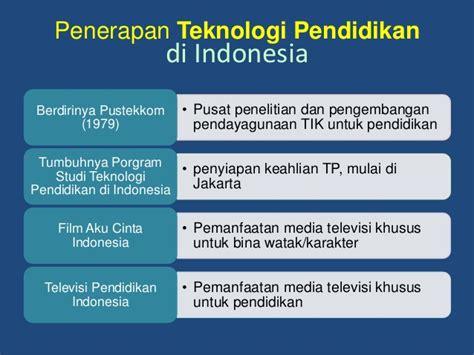 Orde Media Kajian Televisi Dan Media Di Indonesia Pasca Orde Baru konsep dan penerapan teknologi pendidikan