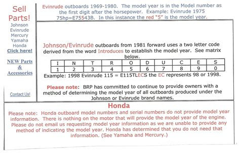 mercury boat motor vin decoder how to know manufacture date on honda serial number