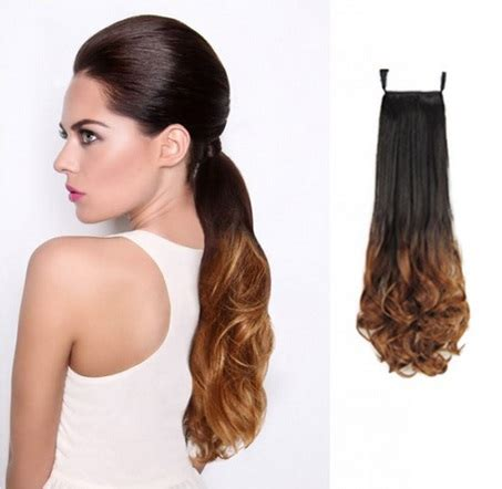 ombre african american ponytails pieces ombre color ponytail blackt27 wrap around ponytail hair