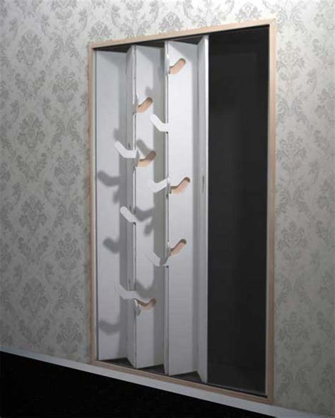 Easy Closet Doors Closet Door With Folding Hooks Easy Closet Freshome