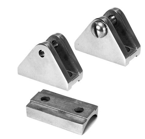 boat deck screws deck hinge flat base with hidden screws stainless steel