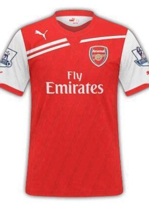 Iphone 7 Plus Arsenal Home Jersey Hardcase image new arsenal 2014 15 home kit possible shirt