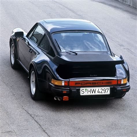 porsche 911 whale tail turbo 50 years of the porsche 911 a sports car celebrates a