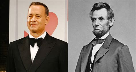 abraham lincoln tom hanks 17 historical figures you didn t were connected in