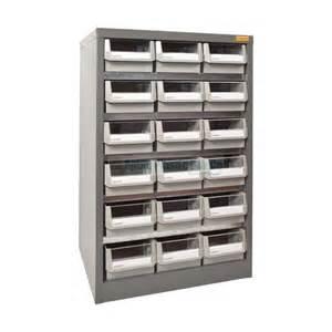 18 drawer storage unit