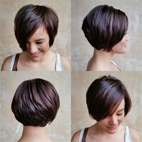 short layered hairstyles with short at nape of neck pixie haircuts with bangs 50 terrific tapers