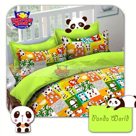 sprei panda world grosir sprei murah www