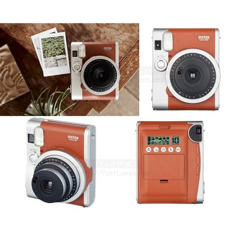 Fujifilm Instax Mini 90 fujifilm instax mini 90 neo classic brown mystery gift