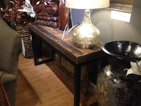 railroad tie console table 17 best ideas about railway ties on railroad