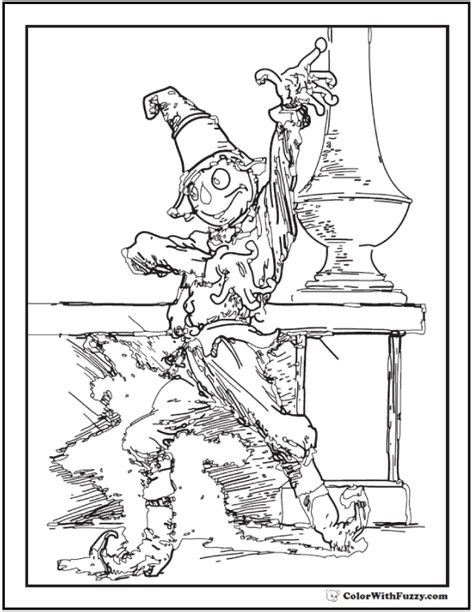 scarecrow coloring page pdf 42 adult coloring pages customize printable pdfs