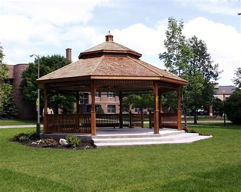 large gazebo large gazebo design for backyard design idea