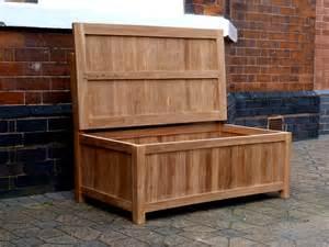 Bench Store Benches Storage Teak Storage Bench Cm Teak Garden