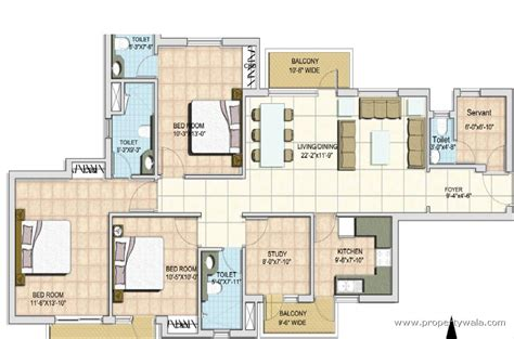 mascot homes floor plans 3 bhk house plan in 1800 sq ft