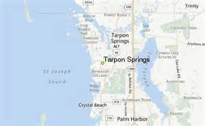 tarpon springs weather station record historical weather