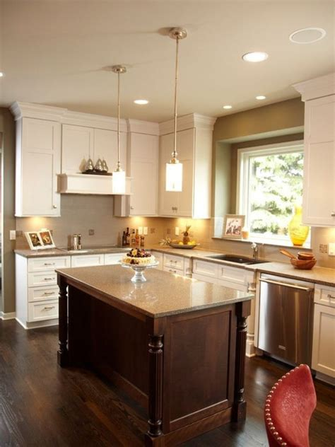 kitchen paint colors with oak cabinets and white